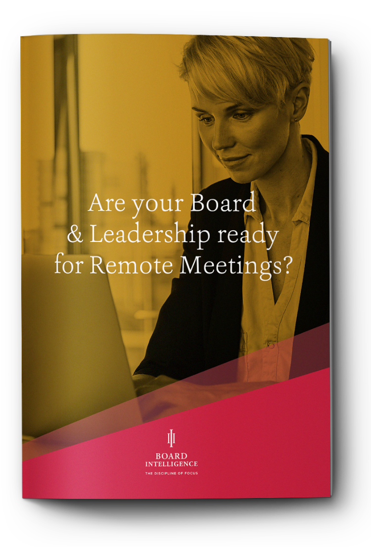 Are Your Board & Leadership Ready For Remote Meetings?